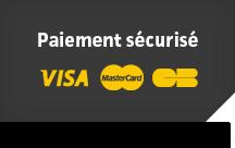 Paiement sécurisé Visa MasterCard CB